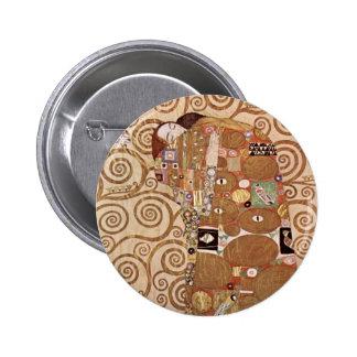 Klimt - Werkvorlagen zum Stocletfries 2 Inch Round Button