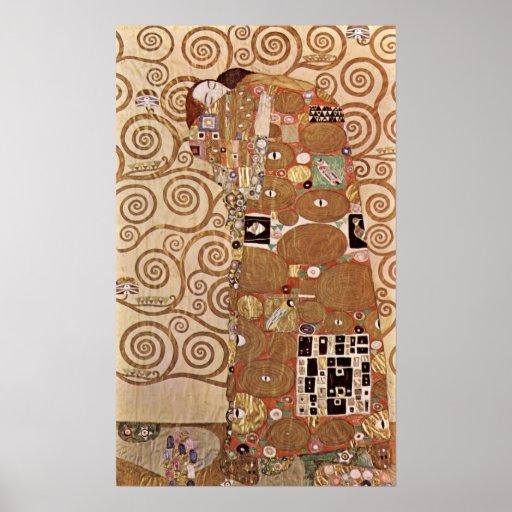 Klimt - Werkvorlagen zum Stocletfries Poster