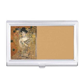 Klimt's Portrait Adele Bloch-Bauer Business Card Holder