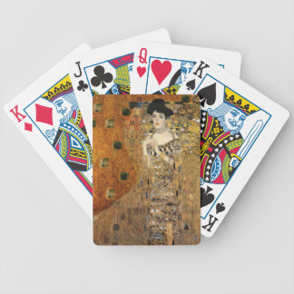 Klimt's Portrait of Adele Bloch-Bauer Bicycle Playing Cards