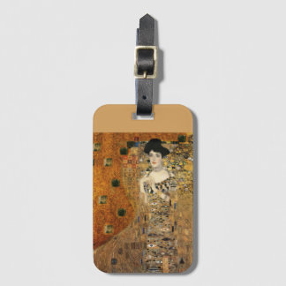 Klimt's Portrait of Adele Bloch-Bauer Luggage Tag