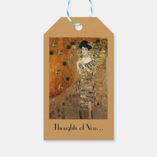 Klimt's Portrait of Adele Bloch-Bauer Pack Of Gift Tags