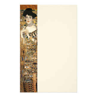 Klimt's Portrait of Adele Bloch-Bauer Stationery