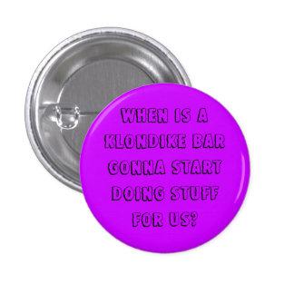 Klondike Bar 1 Inch Round Button