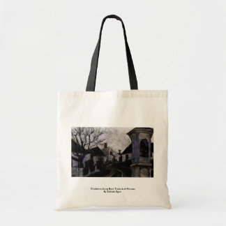 Klosterneuburg Bare Trees And Houses Tote Bag