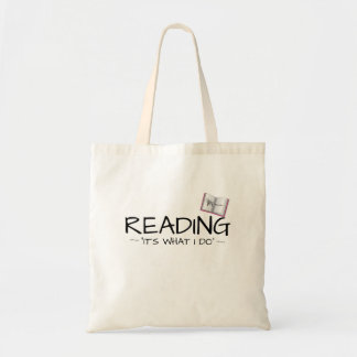 "KM Golland Reading. ""It's what I do"" Tote Bag"