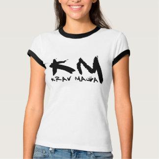 KM - Krav Maga Ringer T-Shirt