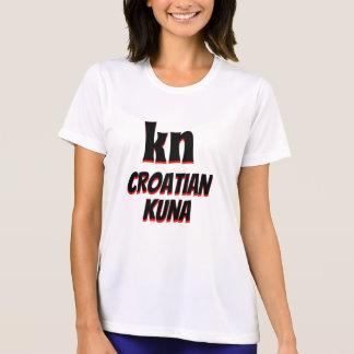 kn Croatian kuna white T-Shirt