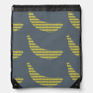 Knapsack Bananas Drawstring Bags