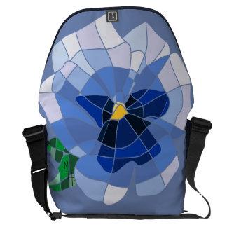 Knapsack - Stock market Violet Vitral Courier Bag
