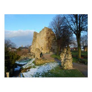 Knaresborough Castle Postcard