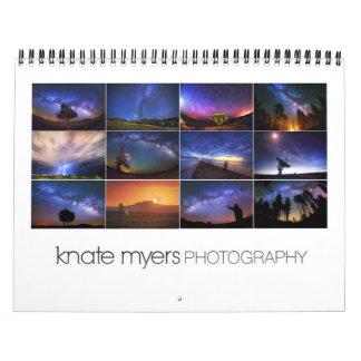 Knate Myers Photo Calendar 2013