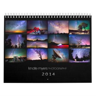 Knate Myers Photo Calendar 2014