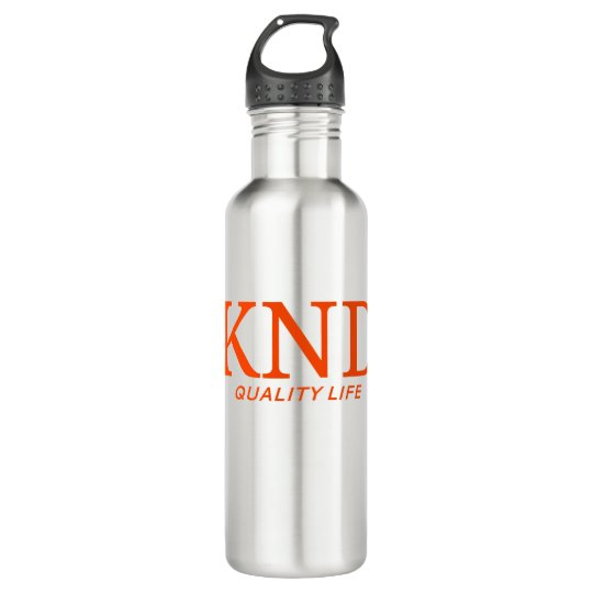 KND Quality Life Stainless Water Bottle  (24 oz.)