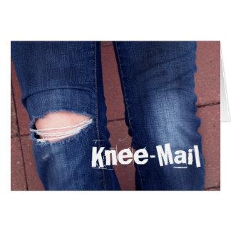 Knee-Mail Card