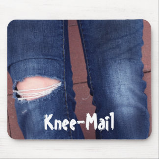 Knee-Mail mousepad