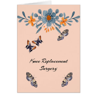 Knee Replacement Surgery Get Well Card