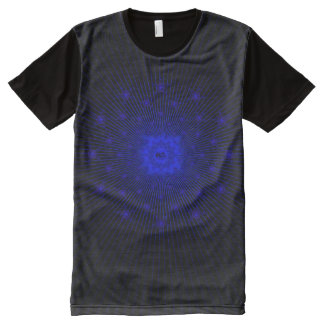 Kneeling Christ with Stars All-Over-Print T-Shirt