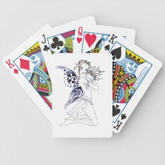 Kneeling Fairy Poker Deck