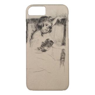 Kneeling in an Armchair by Mary Cassatt iPhone 7 Case