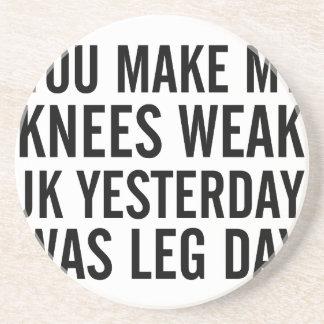 Knees Weak Coaster
