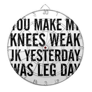 Knees Weak Dartboard