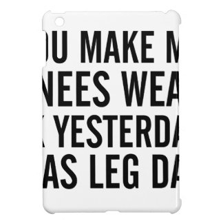 Knees Weak iPad Mini Case
