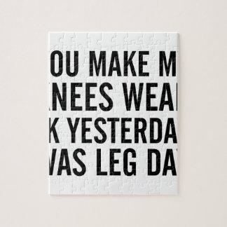 Knees Weak Jigsaw Puzzle