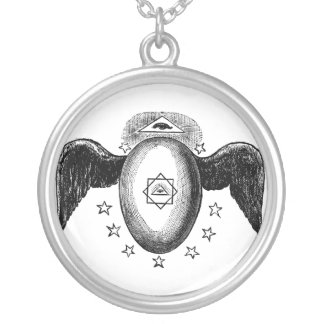 Kneph All Seeing Eye Masonic Symbol Necklace