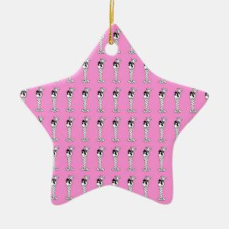 knicker bocker glory ceramic star ornament
