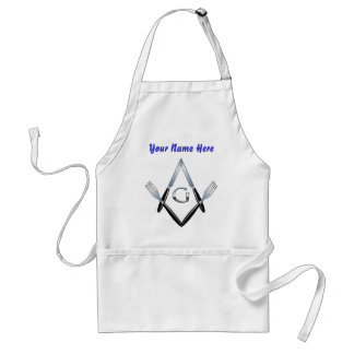 Knife and Fork Crew #2 w/Custom Name Standard Apron