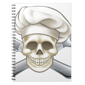 Knife and Fork Pirate Chef Notebook