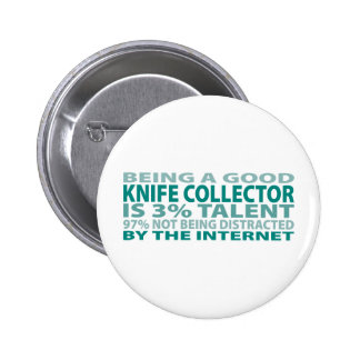 Knife Collector 3 Talent Pin