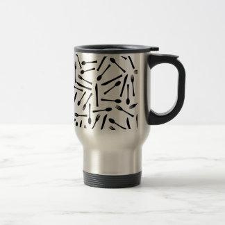 Knife Fork And Spoon Background Travel Mug