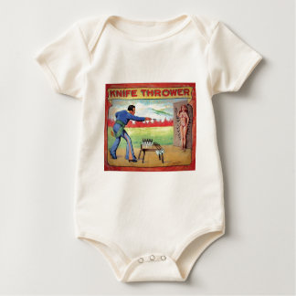 Knife Thrower Baby Bodysuit