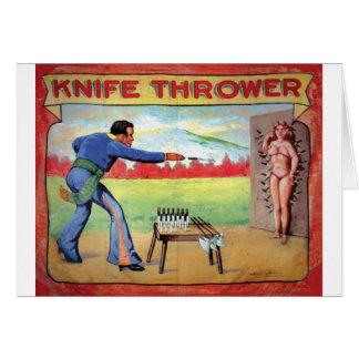 Knife Thrower Card