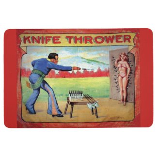 Knife Thrower Floor Mat