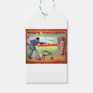 Knife Thrower Gift Tags