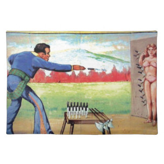 Knife Thrower Placemat
