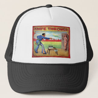 Knife Thrower Trucker Hat