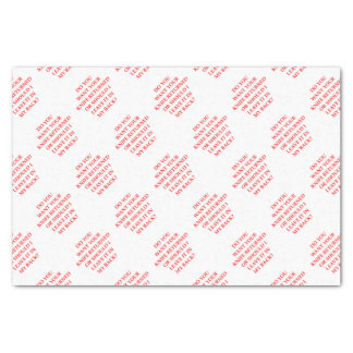 knife tissue paper