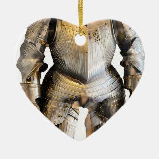 Knight #2 ceramic ornament