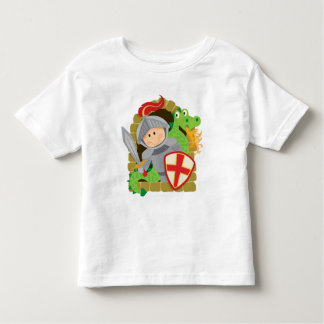 Knight and Dragon Toddler T-shirt