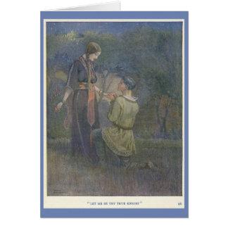 Knight and Fair Lady, Card