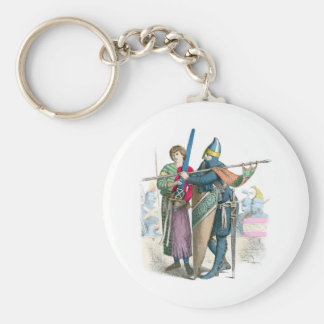 Knight and Squire - Period Costumes Keychain