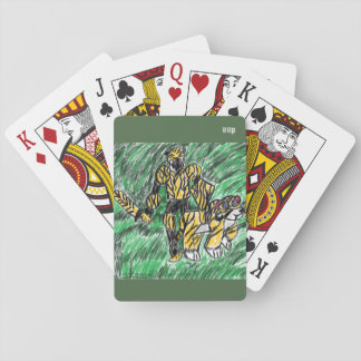 knight and tiger poker deck