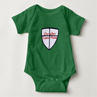 Knight Breaks Feet Baby Bodysuit