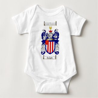 KNIGHT FAMILY CREST -  KNIGHT COAT OF ARMS BABY BODYSUIT