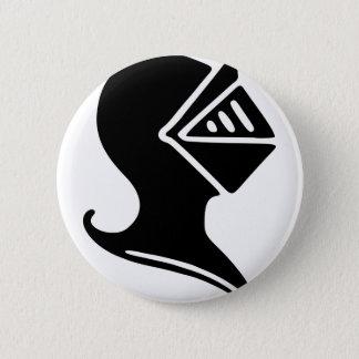 Knight Helmet 2 Inch Round Button
