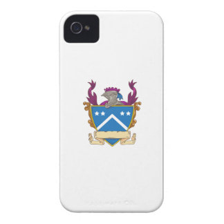 Knight Helmet Star Chevron Drawing iPhone 4 Case-Mate Cases